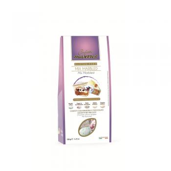 MARBLE MIX TASTE CHOCOLATE ALMOND DRAGEE -  GLUTEN FREE