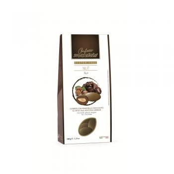 GIANDUIA  CHOCOLATE ALMOND DRAGEE - GLUTEN FREE