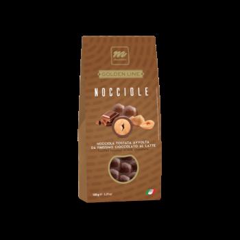 TOASTED HAZELNUTS IN MILK CHOCOLATE GLUTEN FREE