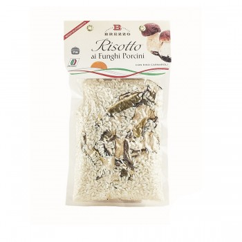 RISOTTO WITH PORCINI GLUTAMATE FREE