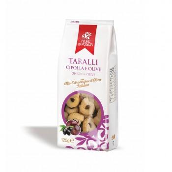 TARALLI - ONIONS & OLIVES